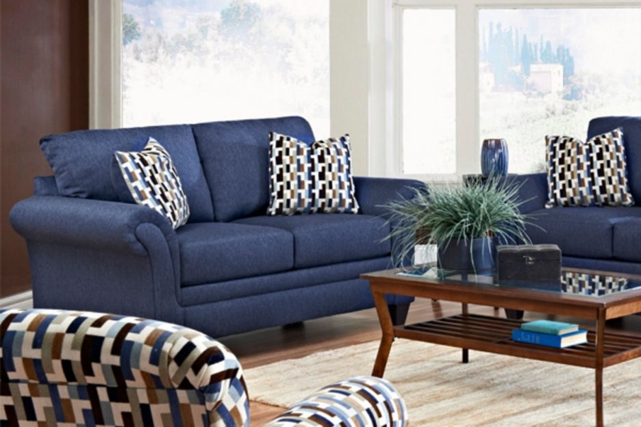 Blue Accent Chairs For Living Room Modern : Blue Accent Chairs For Regarding Widely Used Accent Sofa Chairs (View 3 of 15)