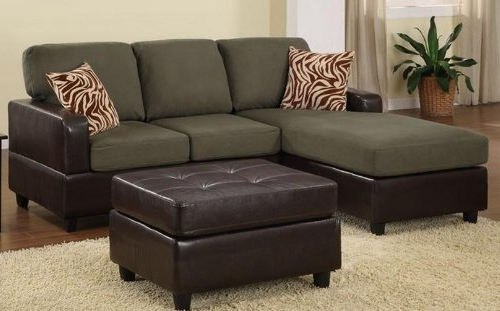 Bobkona Manhattan Reversible Microfiber 3 Piece Sectional Sofa Within Most Recently Released Sectional Sofas With Ottoman (View 2 of 16)