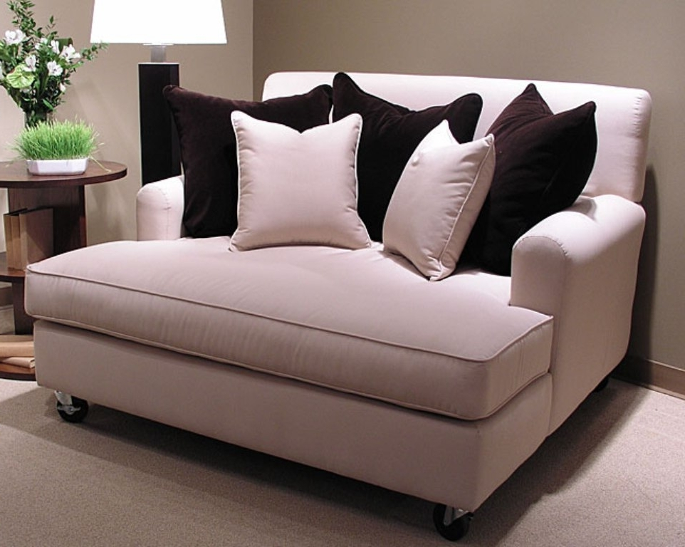 Brilliant Loveseat With Chaise Lounge Fabulous Loveseat With With Widely Used Loveseats With Ottoman (View 1 of 10)