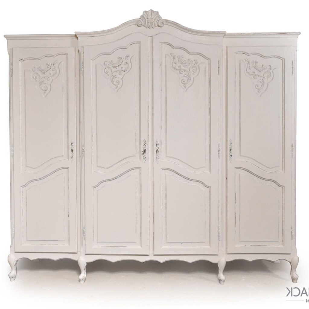 Brilliant White French Wardrobes – Buildsimplehome Regarding Well Known Vintage French Wardrobes (View 1 of 15)