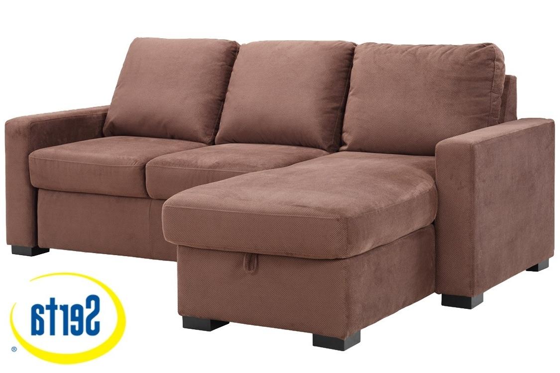 Brown Futon Sofa Sleeper (View 2 of 15)