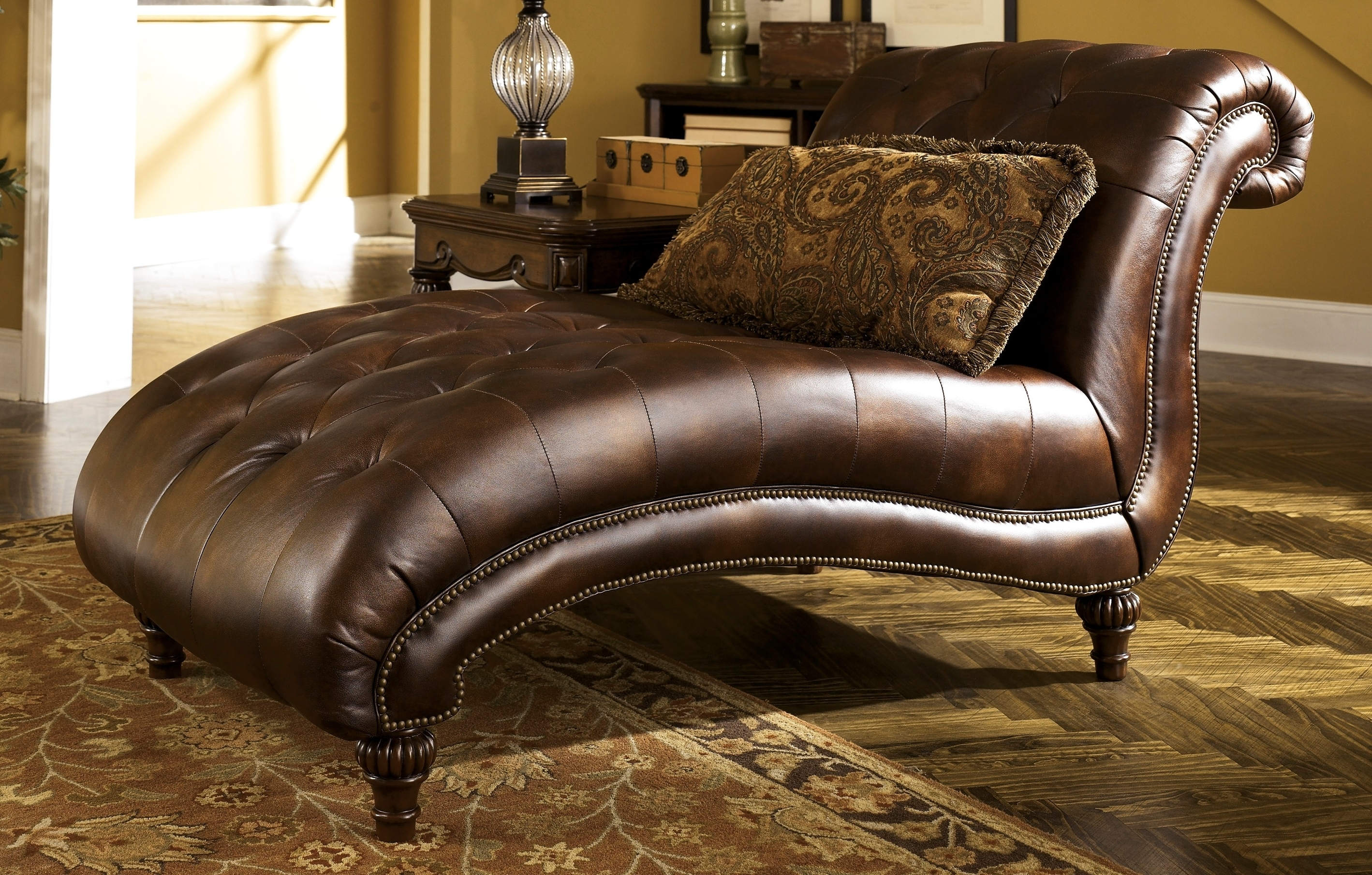 chaise tibbee l lounge in slate htm furniture ashley