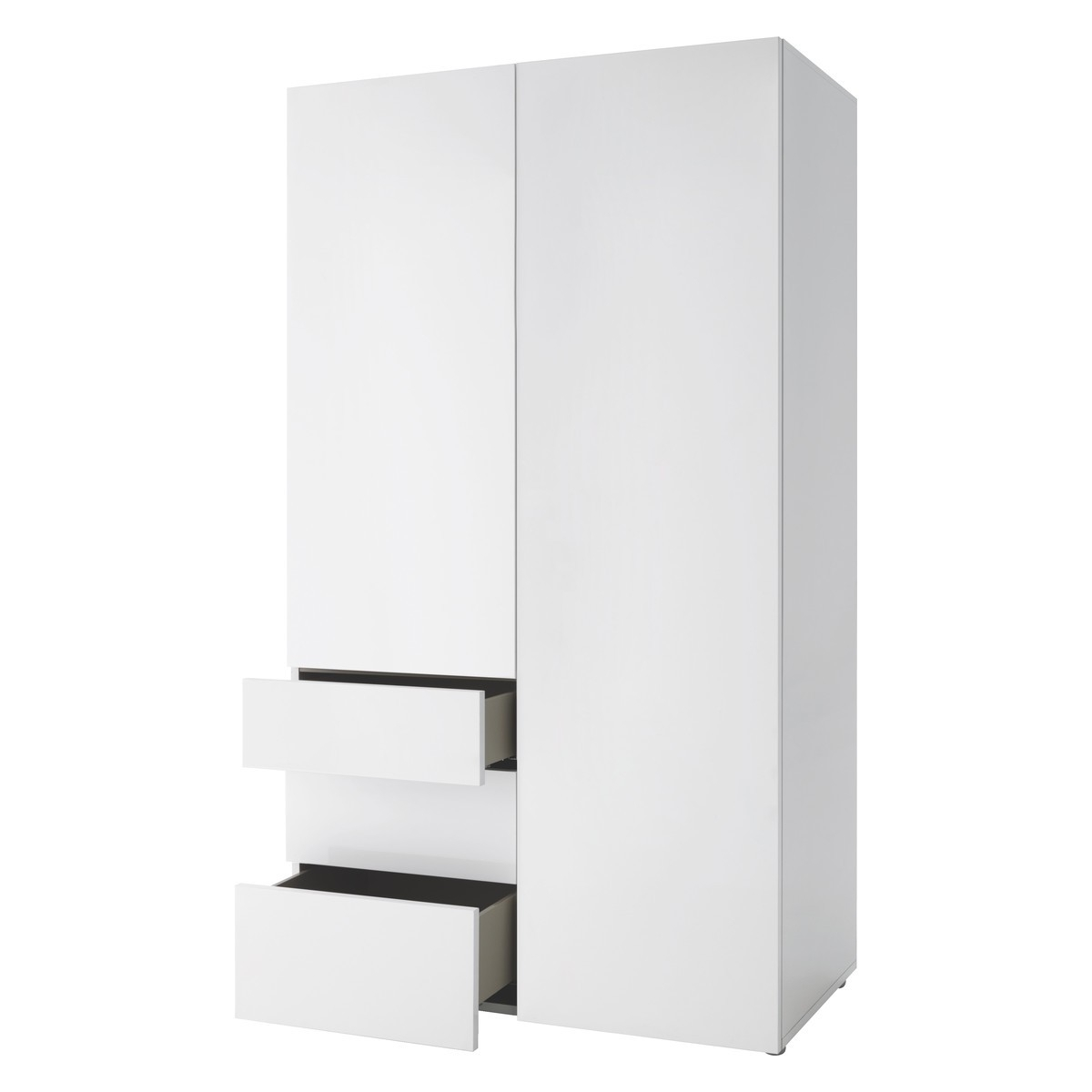Buy Now At Habitat Uk With 2018 White 2 Door Wardrobes With Drawers (View 3 of 15)