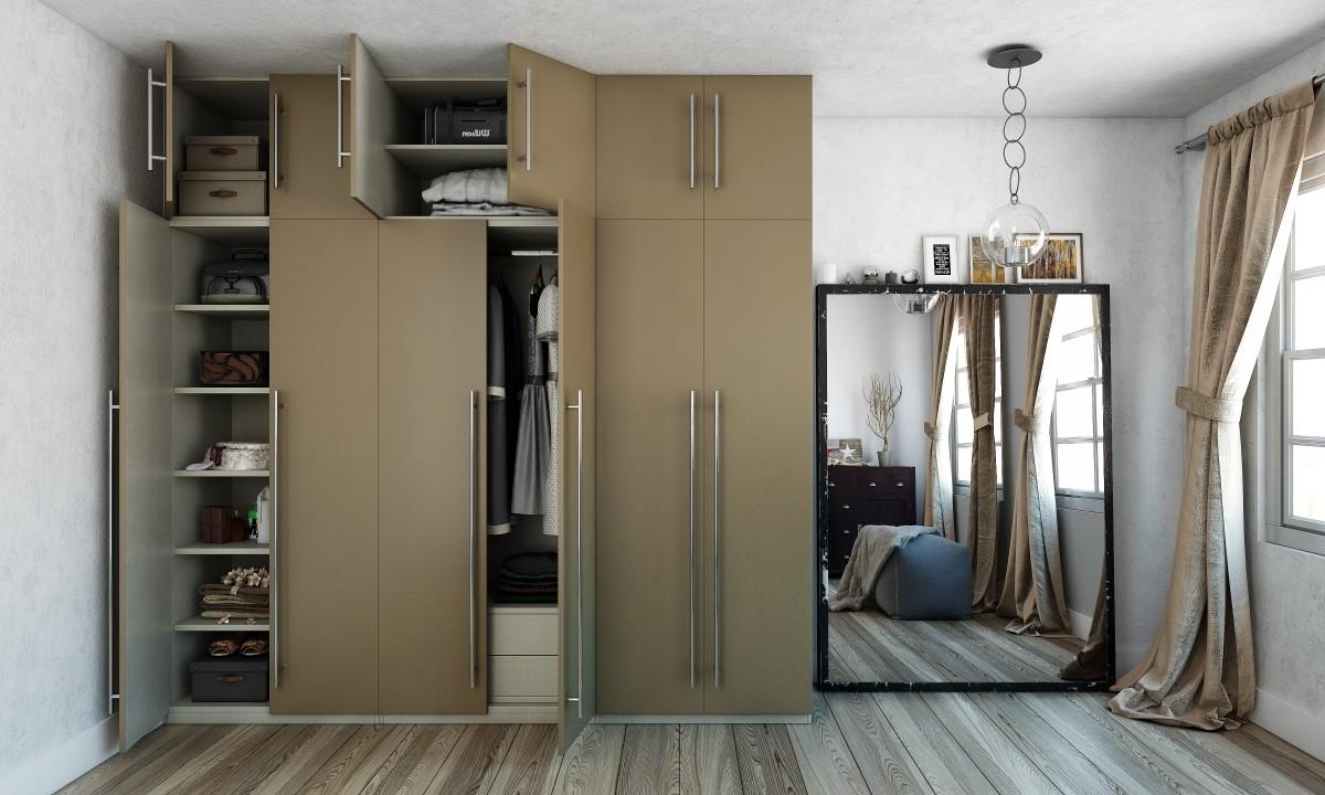Buy Zola 6 Door Wardrobe Online In India – Livspace With Best And Newest 6 Door Wardrobes (View 11 of 15)
