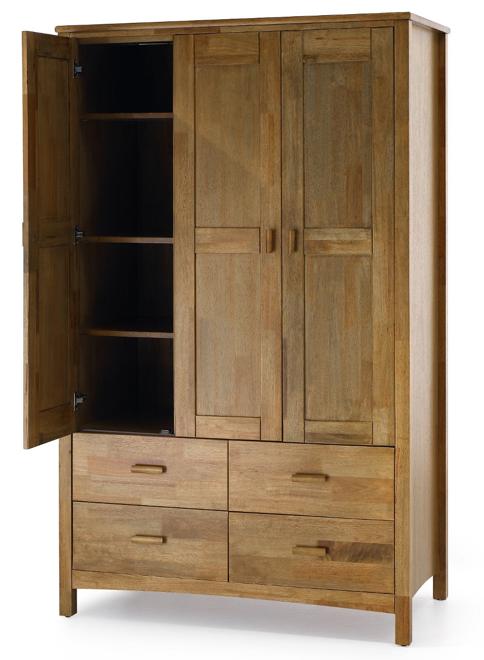 Cameo 2 Door Wardrobes Within Preferred Serene Eleanor Combination Wardrobe (View 7 of 15)
