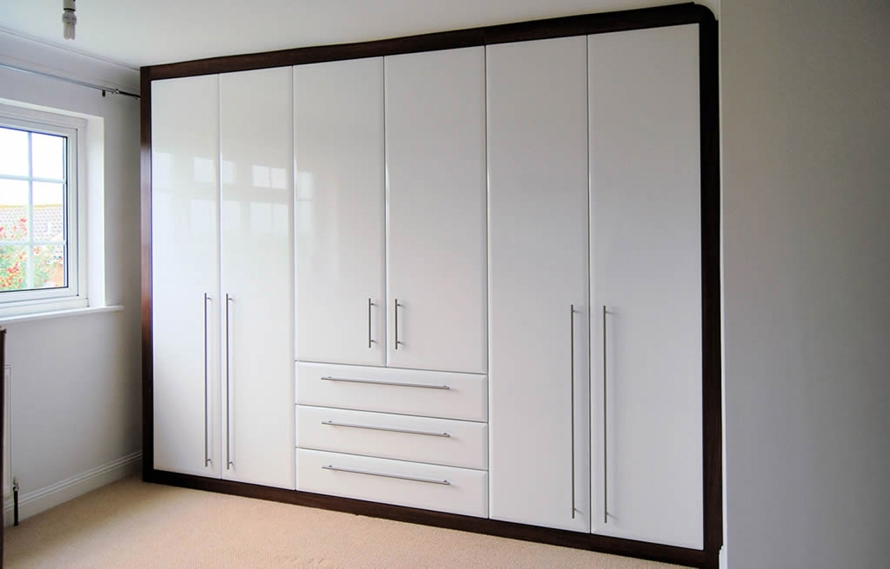 Carewood Interiart High Gloss Wardrobes (View 3 of 15)
