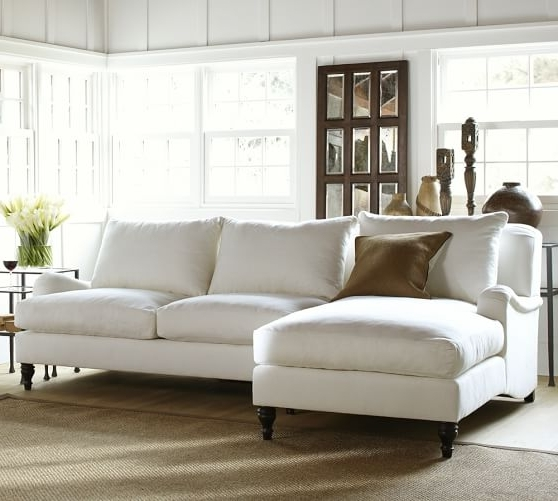 Carlisle Upholstered Sofa With Chaise Sectional (View 10 of 10)