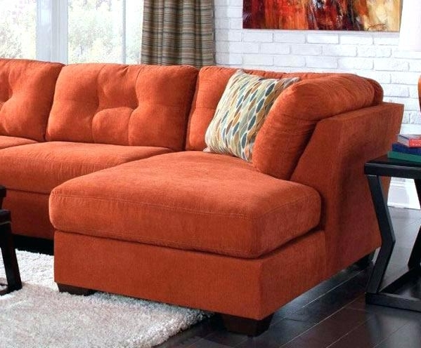Catosfera Within 2018 Orange Sectional Sofas (View 4 of 10)