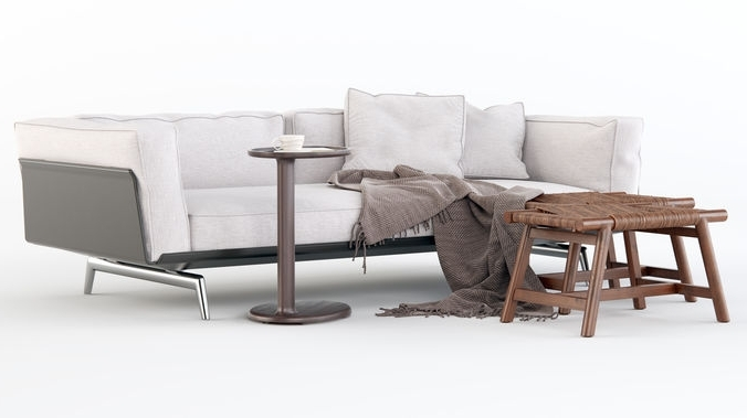 Cgtrader Regarding Best And Newest Flexform Sofas (View 10 of 10)