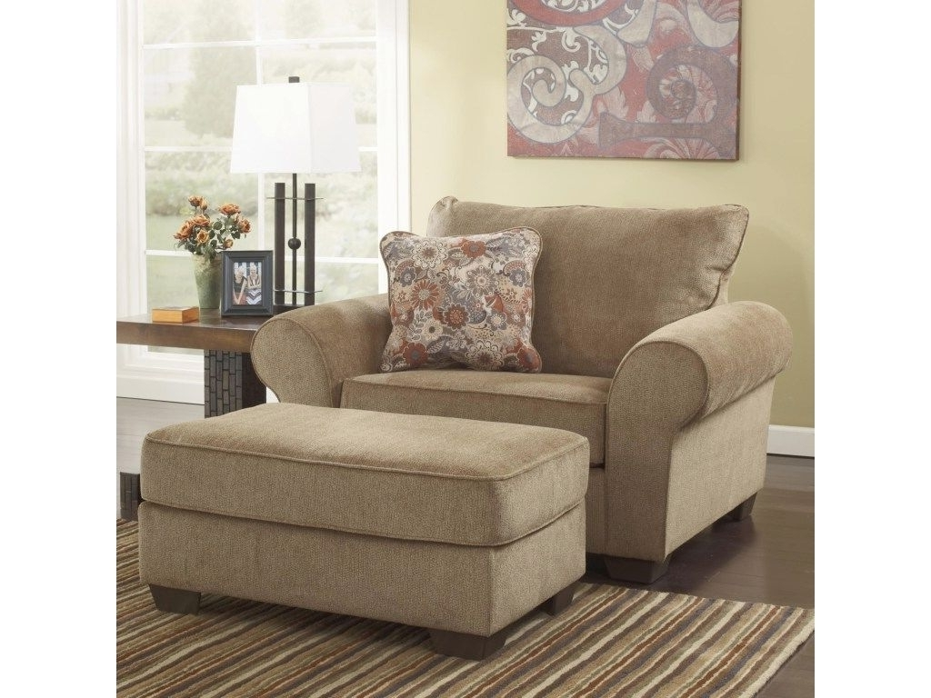 Chair And A Half With Ottoman Throughout Chaise Lounge Chairs At Big Lots (View 3 of 15)