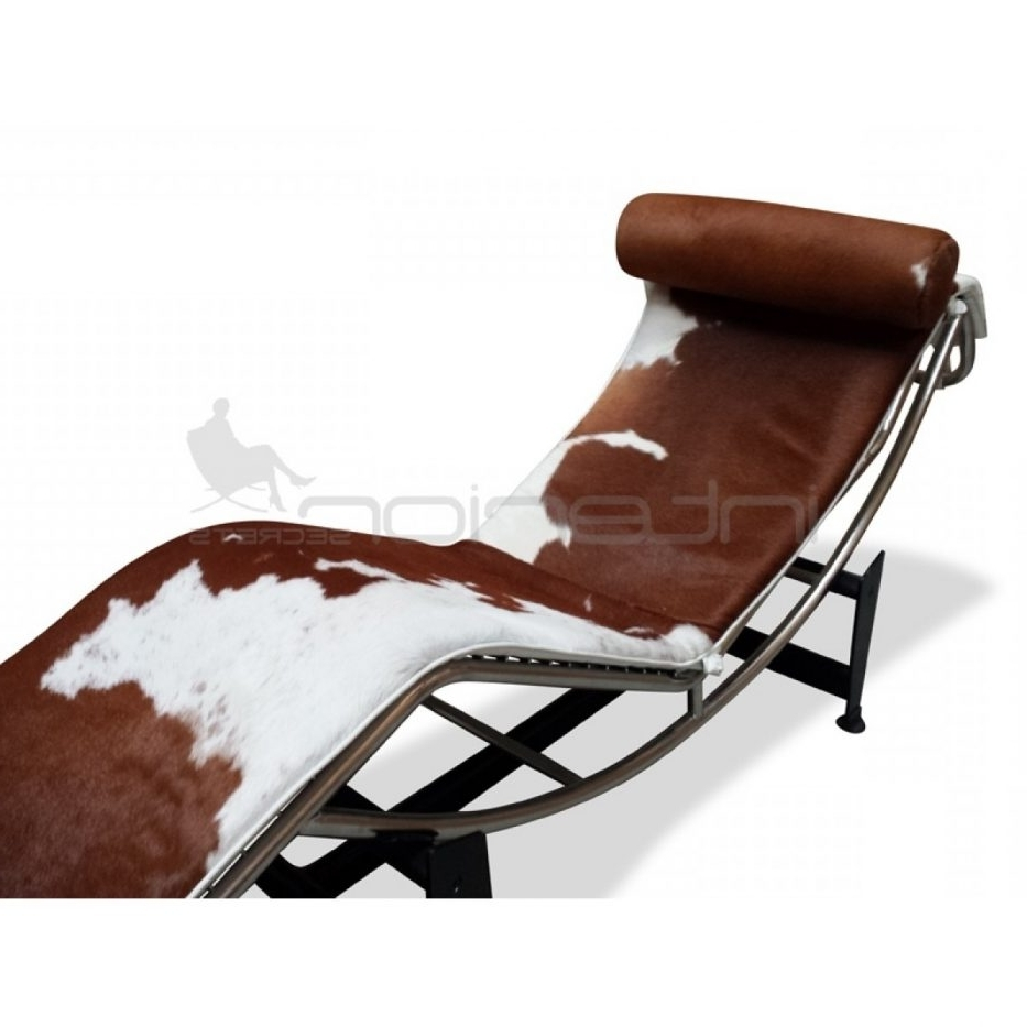 Chaise Lounge Chair Le Corbusier Lc Brown White Interior Secrets Pertaining To Favorite Brown Chaise Lounge Chair By Le Corbusier (View 12 of 15)