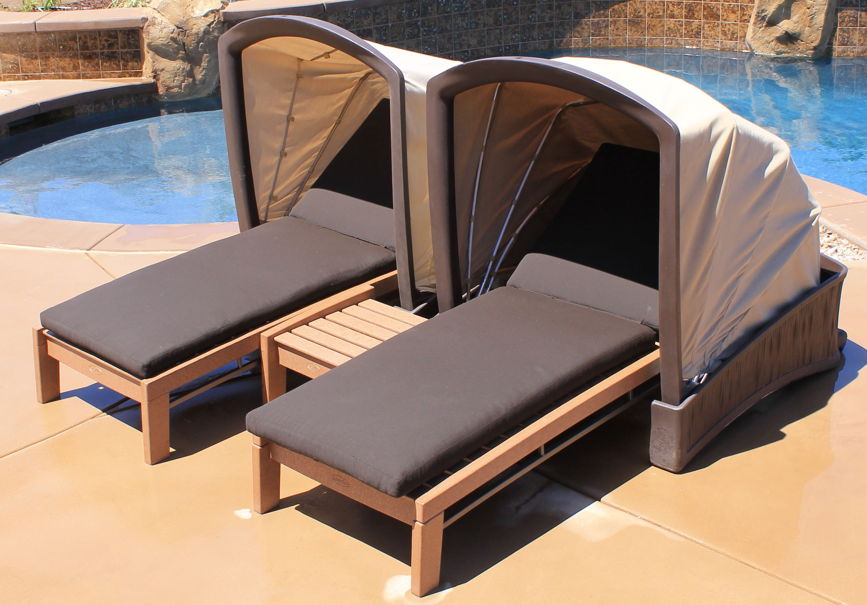 Featured Photo of Chaise Lounge Chair With Canopy