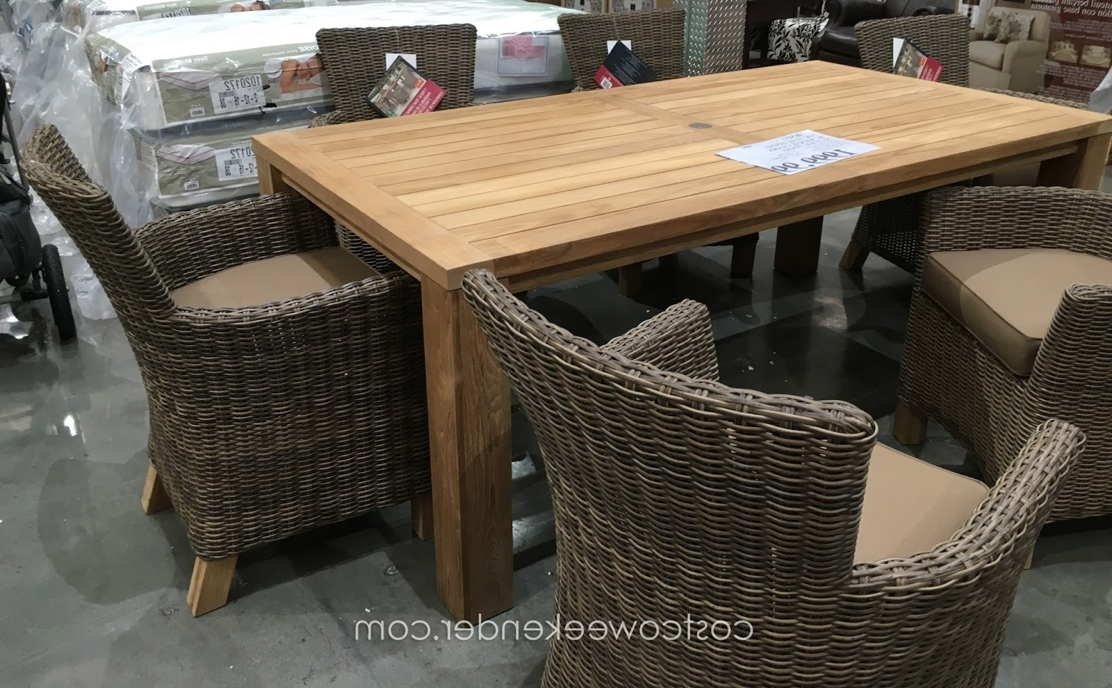 Chaise Lounge Chairs At Costco In Trendy Costco Patio Furniture Dining Sets – Chiefkessler (View 3 of 15)