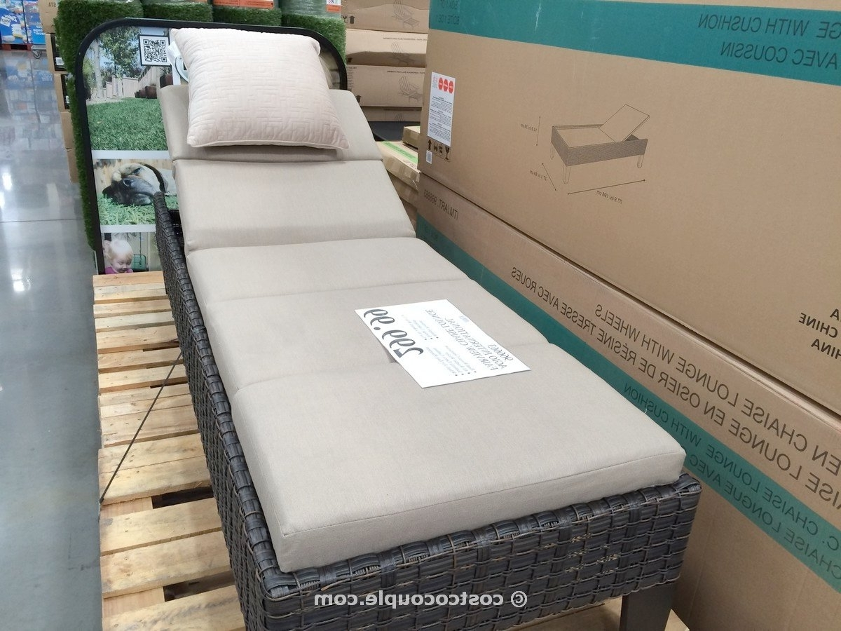 Chaise Lounge Chairs At Costco Throughout Most Popular Pool Lounge Chairs Costco – Lounge Chairs (View 5 of 15)