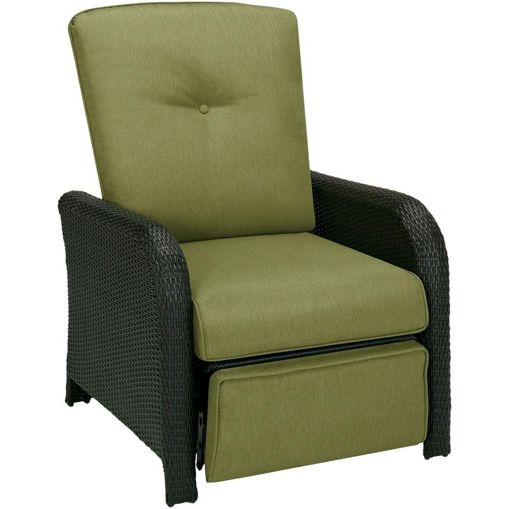 Chaise Lounge Chairs For Sunroom With Regard To Popular Hanover Strathmere 1 Piece Outdoor Reclining Patio Lounge Chair (View 8 of 15)