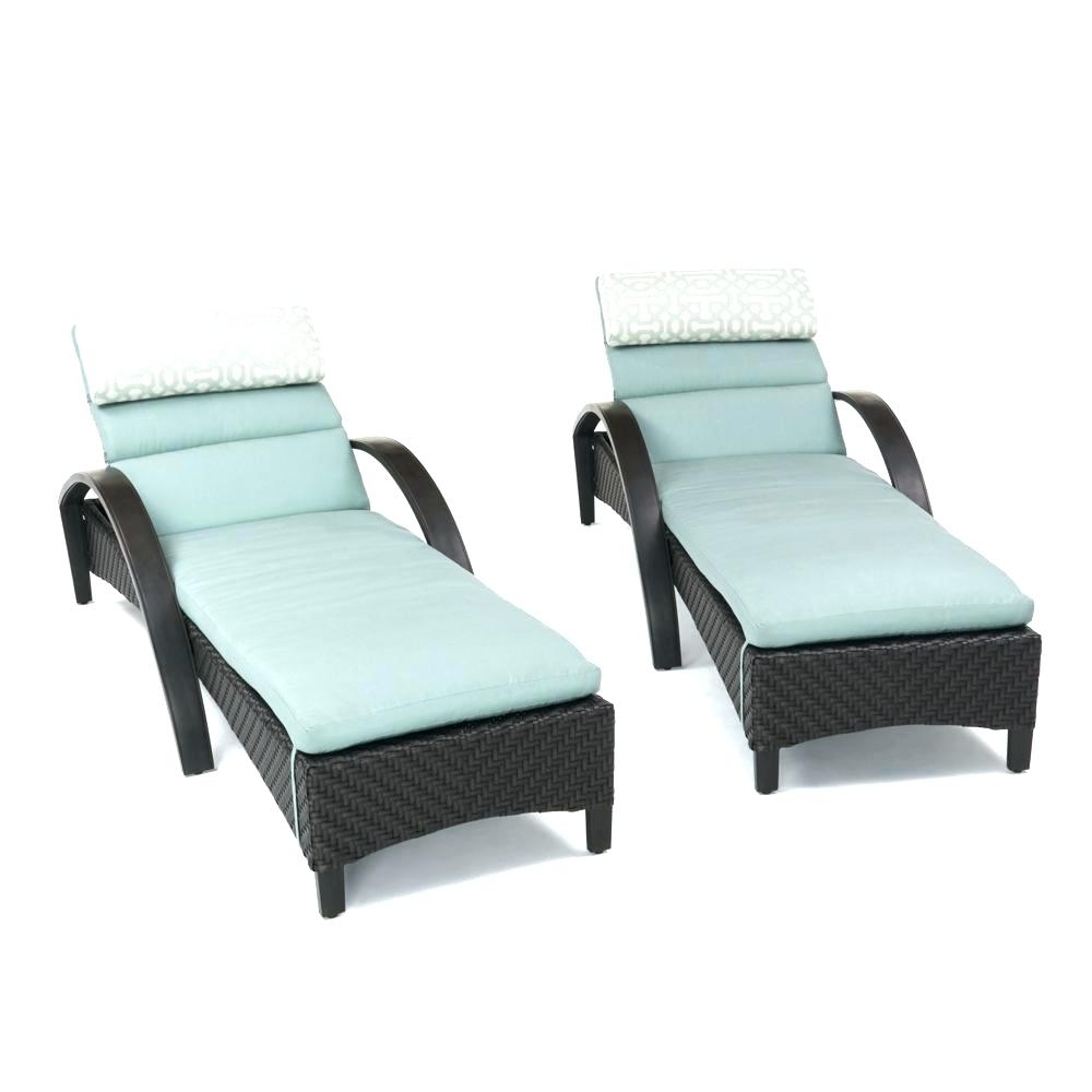 Chaise Lounge Cushions Double Walmart Sunbrella Outdoor Inside 2017 Walmart Chaise Lounge Cushions (View 14 of 15)