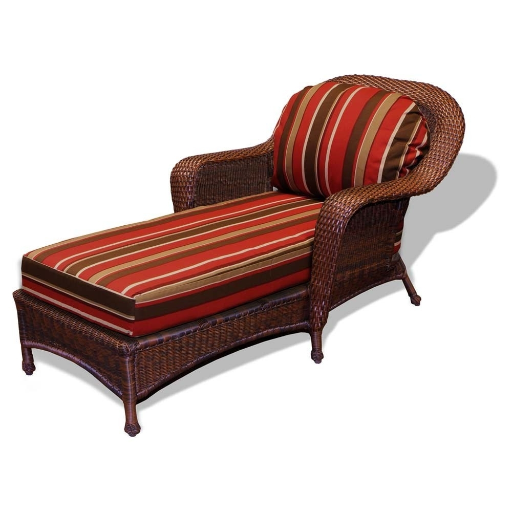 Chaise Lounge Cushions Within Well Known Replacement Cushion – Tortuga Outdoor Lexington Wicker Chaise (View 5 of 15)