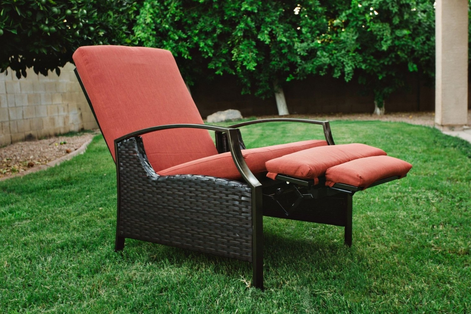 Chaise Lounge Reclining Chairs For Outdoor Throughout Trendy Outdoor : Wayfair Chaise Lounge Chaise Lounge Sofa Most (View 12 of 15)