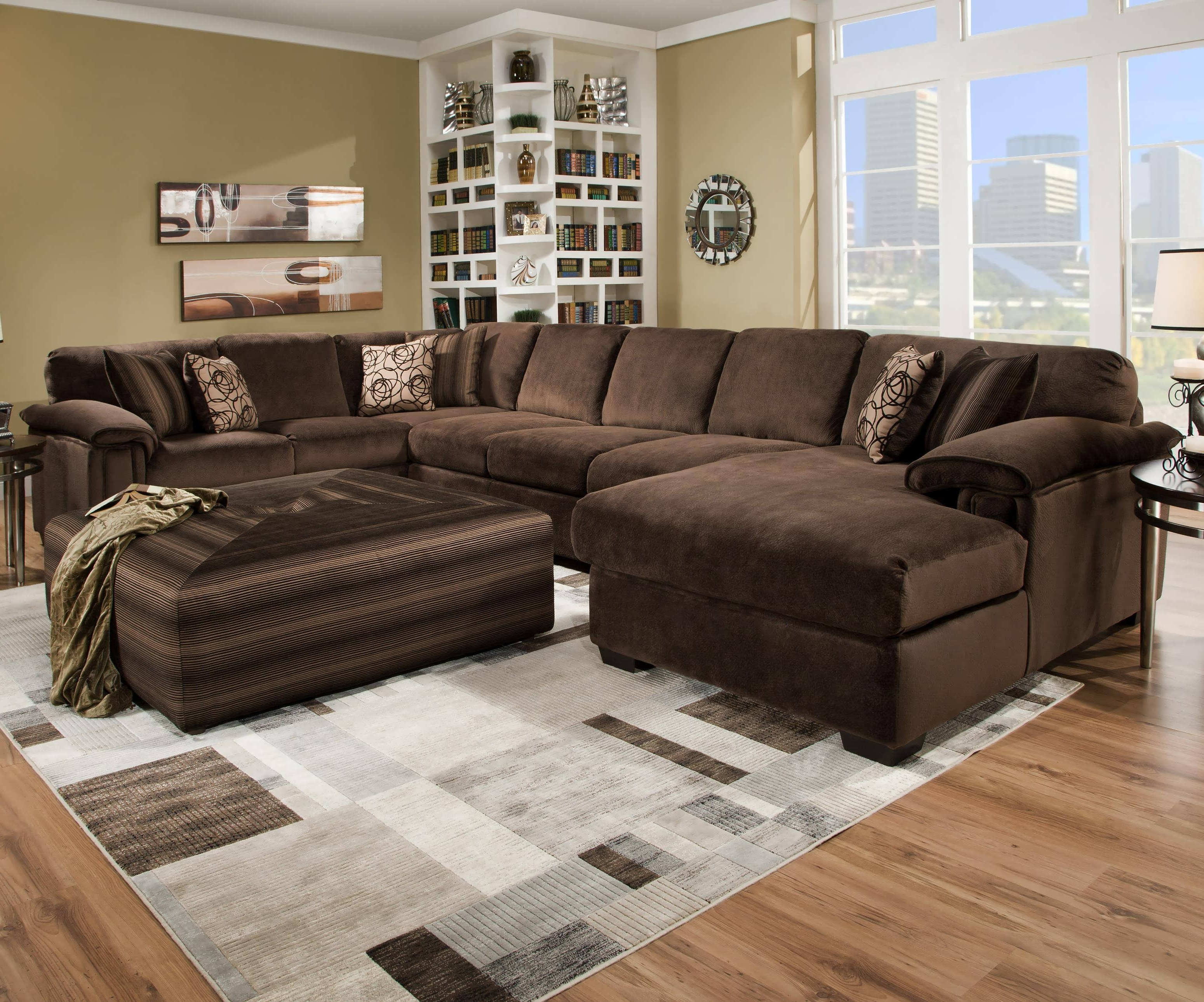 Chaise Lounge Sleeper Sofas In Most Recently Released Sofa : Sectional Sofa For Small Spaces Couch With Chaise Deep (View 8 of 15)