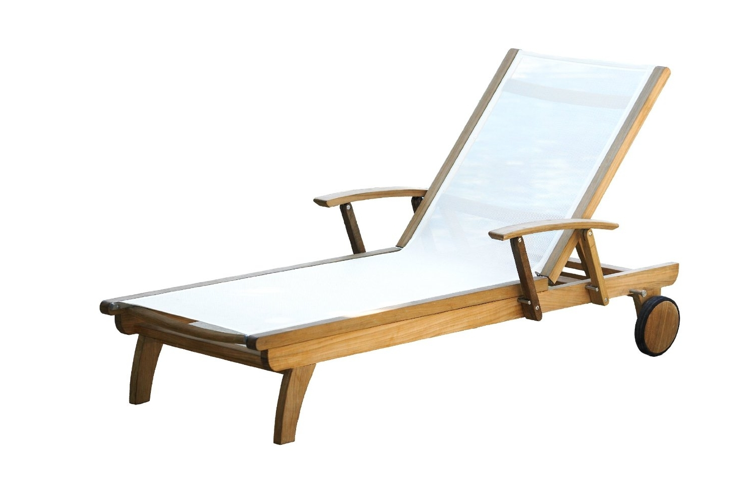 Chaise Lounge Sun Chairs Pertaining To Favorite Teak Chaise Lounge Chair – Teak Patio Furniture World (View 6 of 15)
