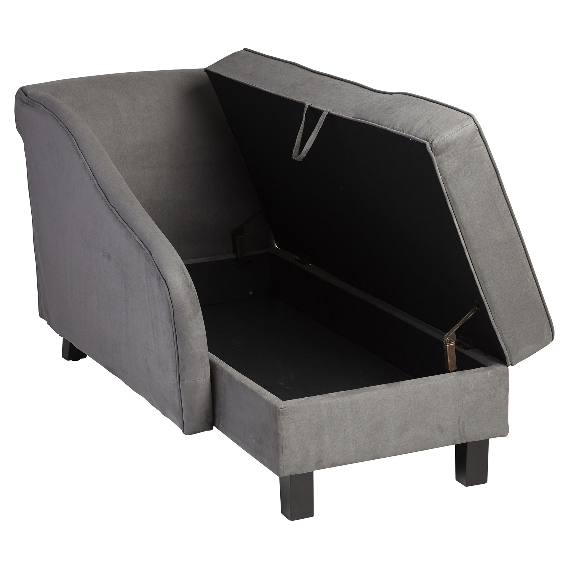 Chaise Lounges With Storage For Well Liked Chaise Lounge With Storage – Lounge With Chaise And Storage (View 4 of 15)