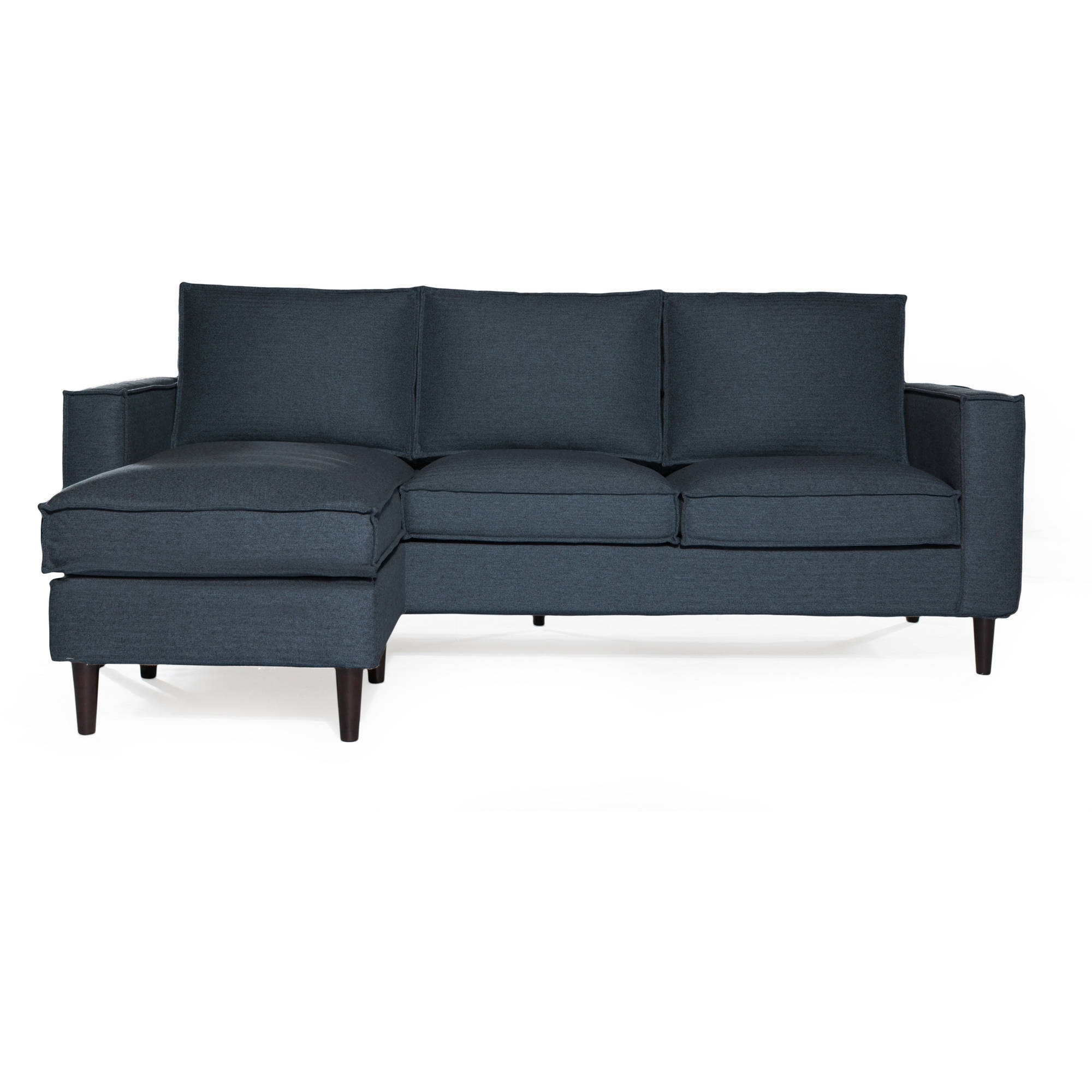 Chaise Loveseats Intended For 2018 Sofas & Couches – Walmart (View 12 of 15)