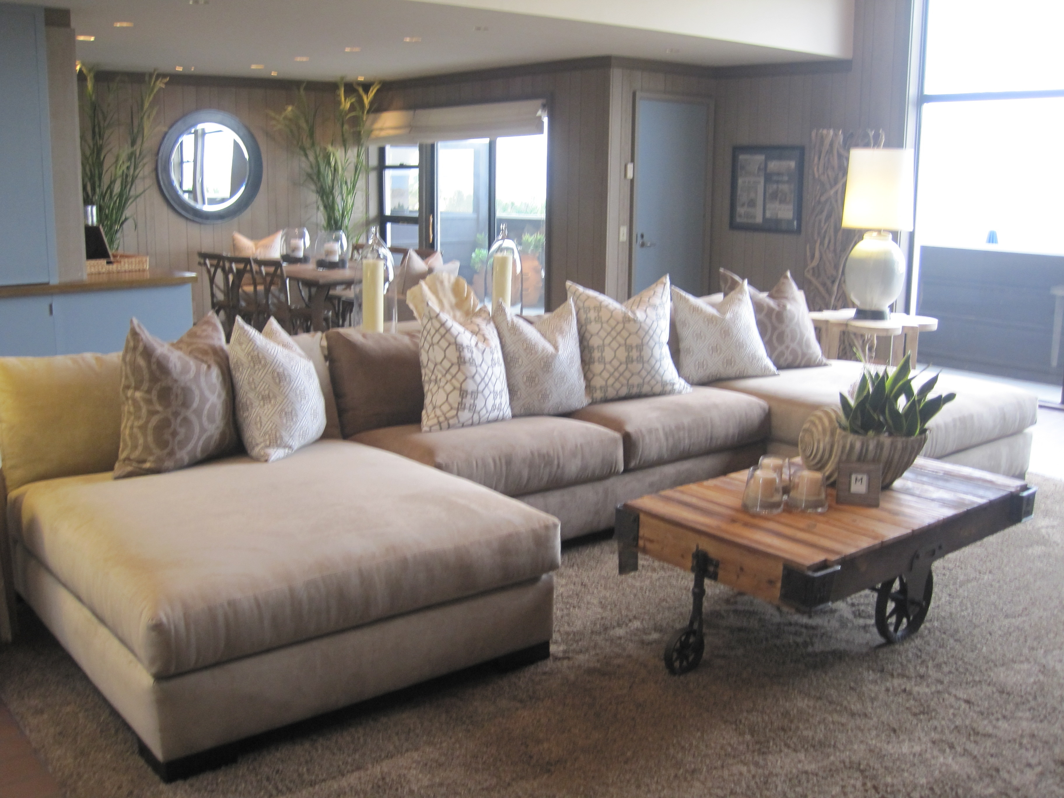 Chaise Sectionals With Well Known Furniture: Costco Sectionals (View 6 of 15)