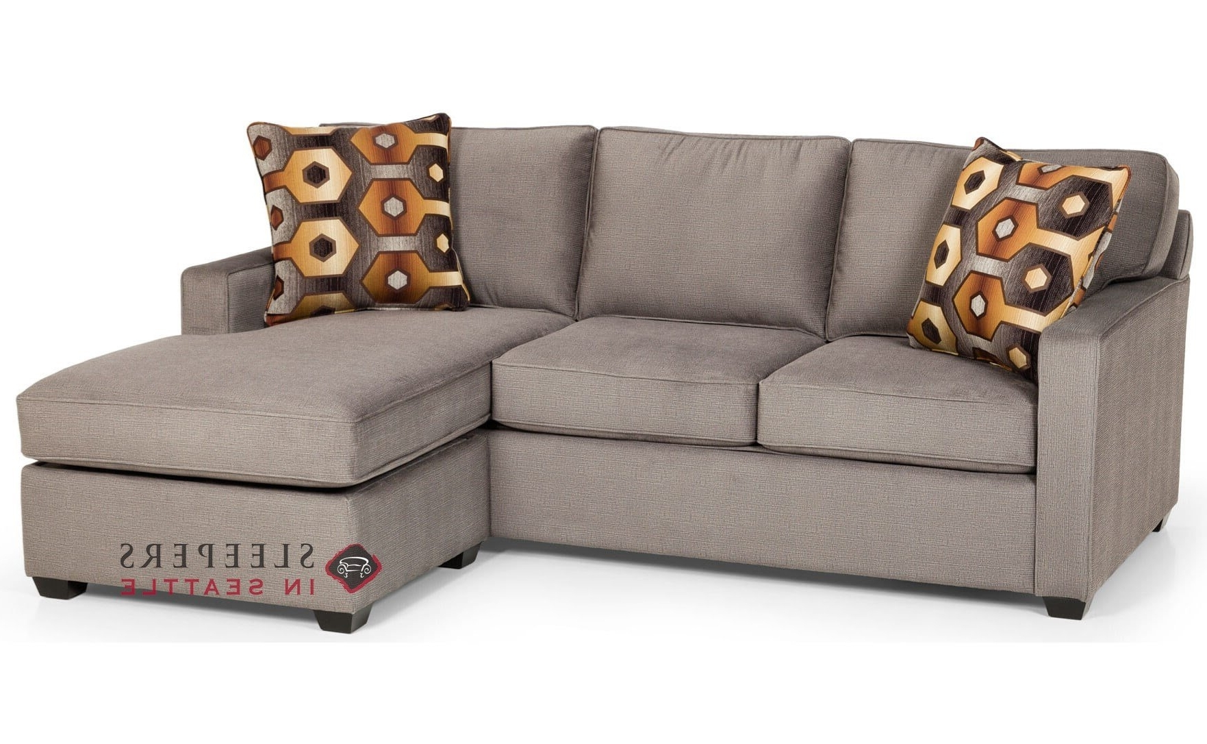 Chaise Sleeper Sofas With Regard To Well Liked Customize And Personalize 403 Chaise Sectional Fabric Sofa (View 14 of 15)