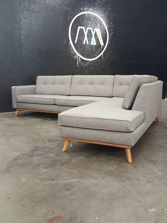Chaise Sofa, Mid Inside Mid Range Sofas (View 5 of 10)