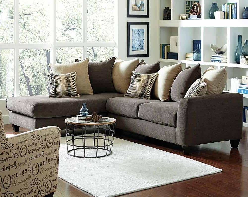 Charcoal Gray Couch With Chaise (View 4 of 15)