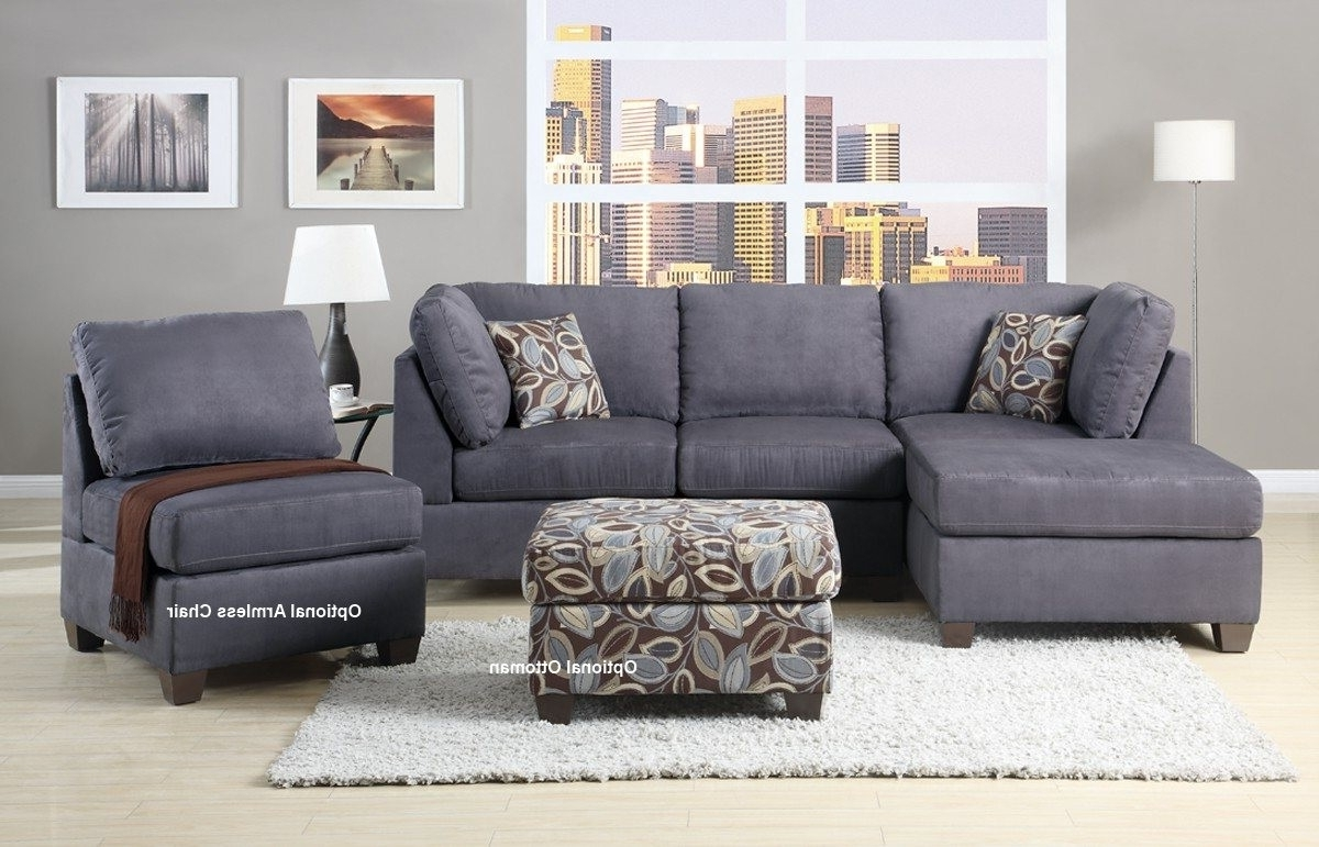Charcoal Sectionals With Chaise Intended For Most Current Stunning Gray Sectional Sofas With Chaise Photos – Liltigertoo (View 5 of 15)