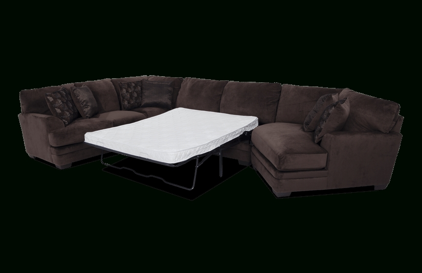 Charisma 3 Piece Right Arm Facing Innerspring Queen Sleeper Intended For Most Recent 3 Piece Sectional Sleeper Sofas (View 13 of 15)
