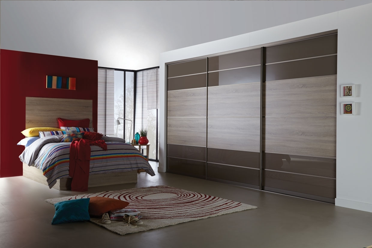 Cheap Bedroom Wardrobes Throughout Recent Made To Measure Sliding Wardrobe Doors High Gloss Mirror Cheap (View 5 of 15)