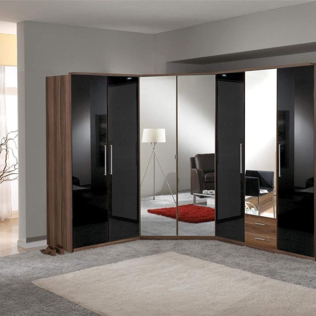 Featured Photo of Cheap Black Gloss Wardrobes