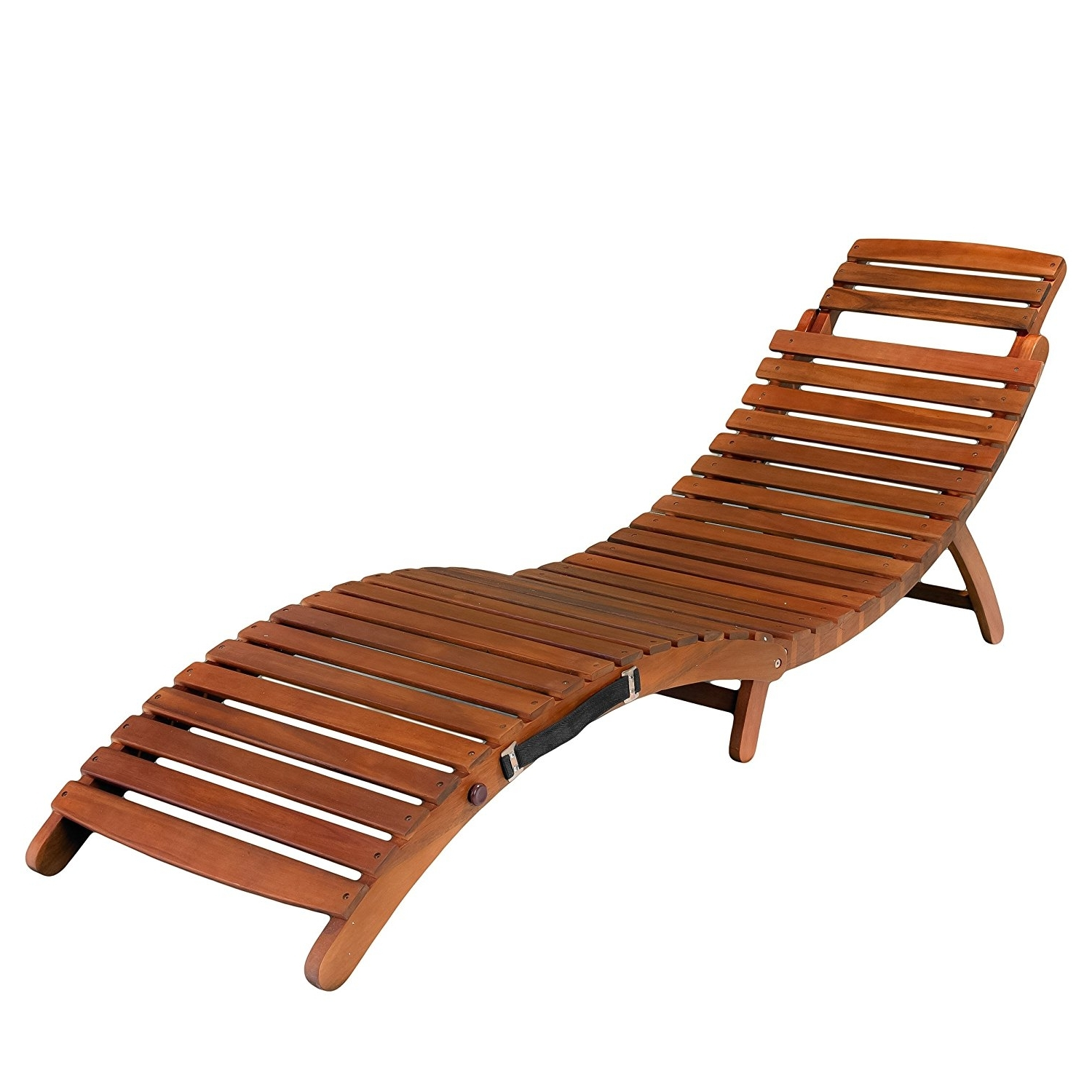 Cheap Folding Chaise Lounge Chairs For Outdoor Inside Popular Amazon: Best Selling Del Rio Wood Outdoor Chaise Lounge (View 2 of 15)