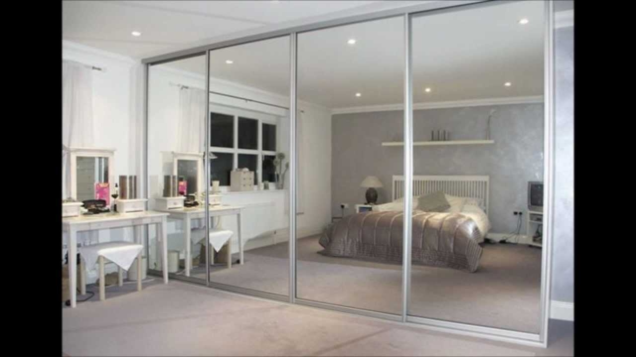 Cheap Mirrored Wardrobes For Current Mirrored Wardrobes – Youtube (View 3 of 15)