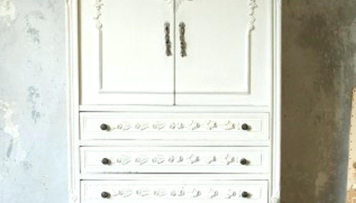 Cheap Vintage Wardrobes In Well Liked Closet ~ Cheap Armoire Closet With Drawers Nightstand Moreover (View 4 of 15)