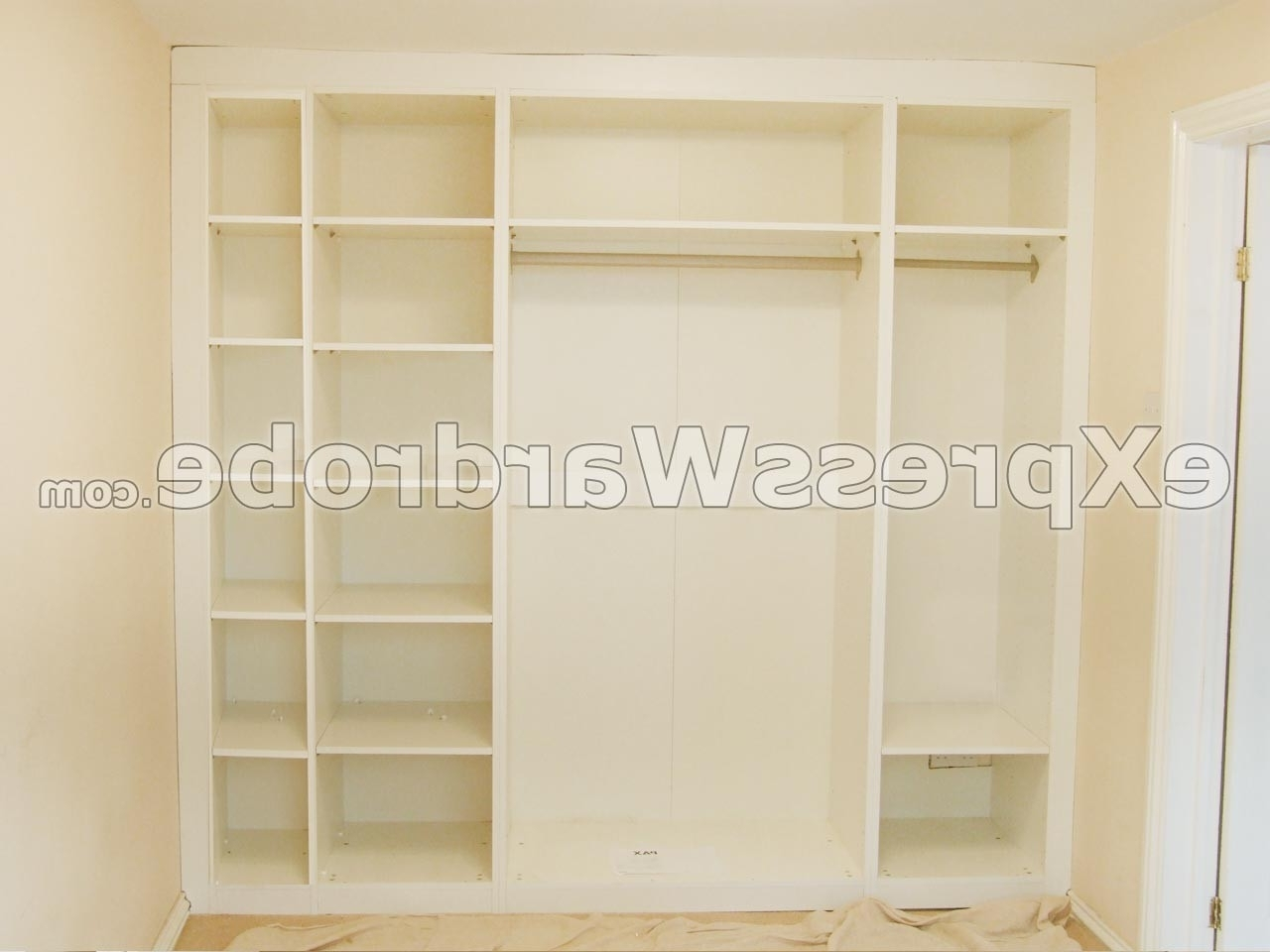 Cheap Wardrobes Intended For Well Known Awesome Modular Fitted Wardrobes – Badotcom (View 3 of 15)