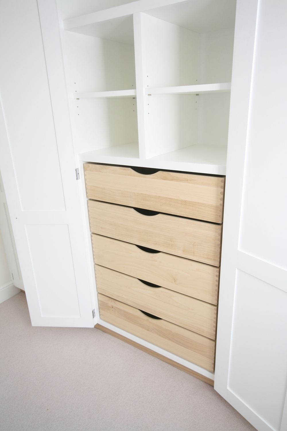 Cheap Wardrobes With Drawers Pertaining To Current Wardrobe Internal Drawers And Pigeon Holes, Enlargement  (View 7 of 15)