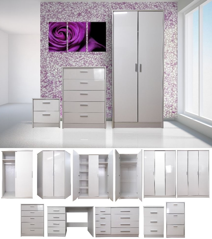 Featured Photo of Cheap White Wardrobes Sets