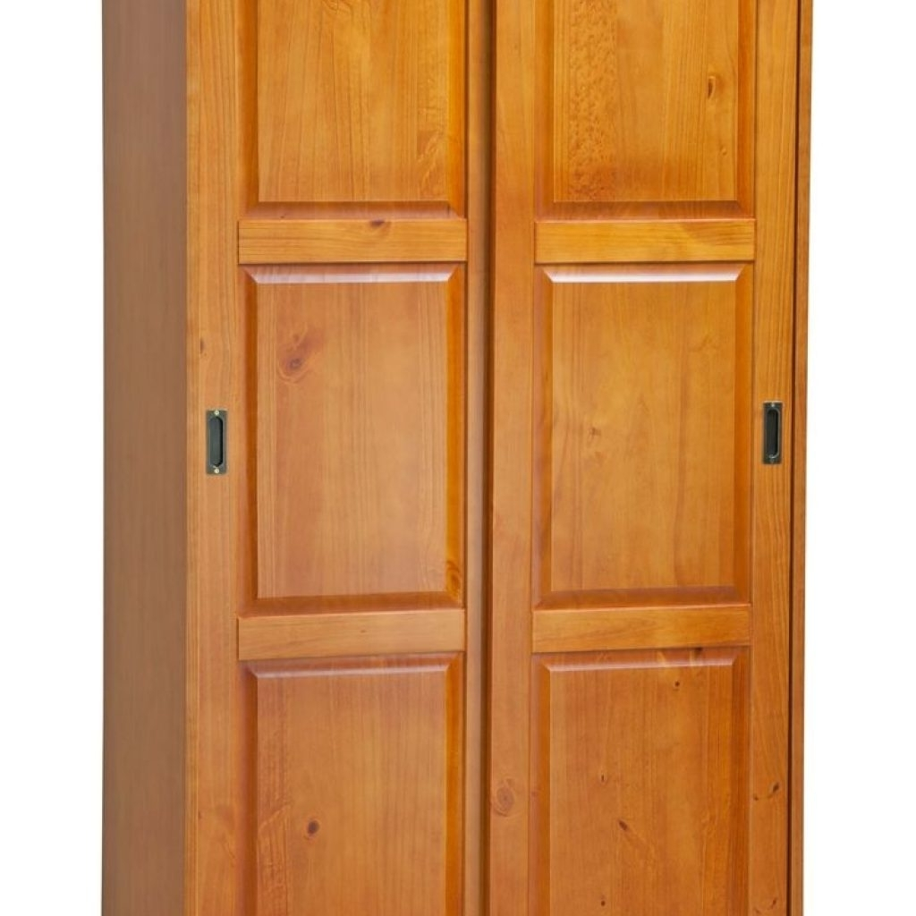 Cheap Wood Wardrobes Intended For Well Known Elegant Solid Wood Wardrobes Cheap – Buildsimplehome (View 5 of 15)