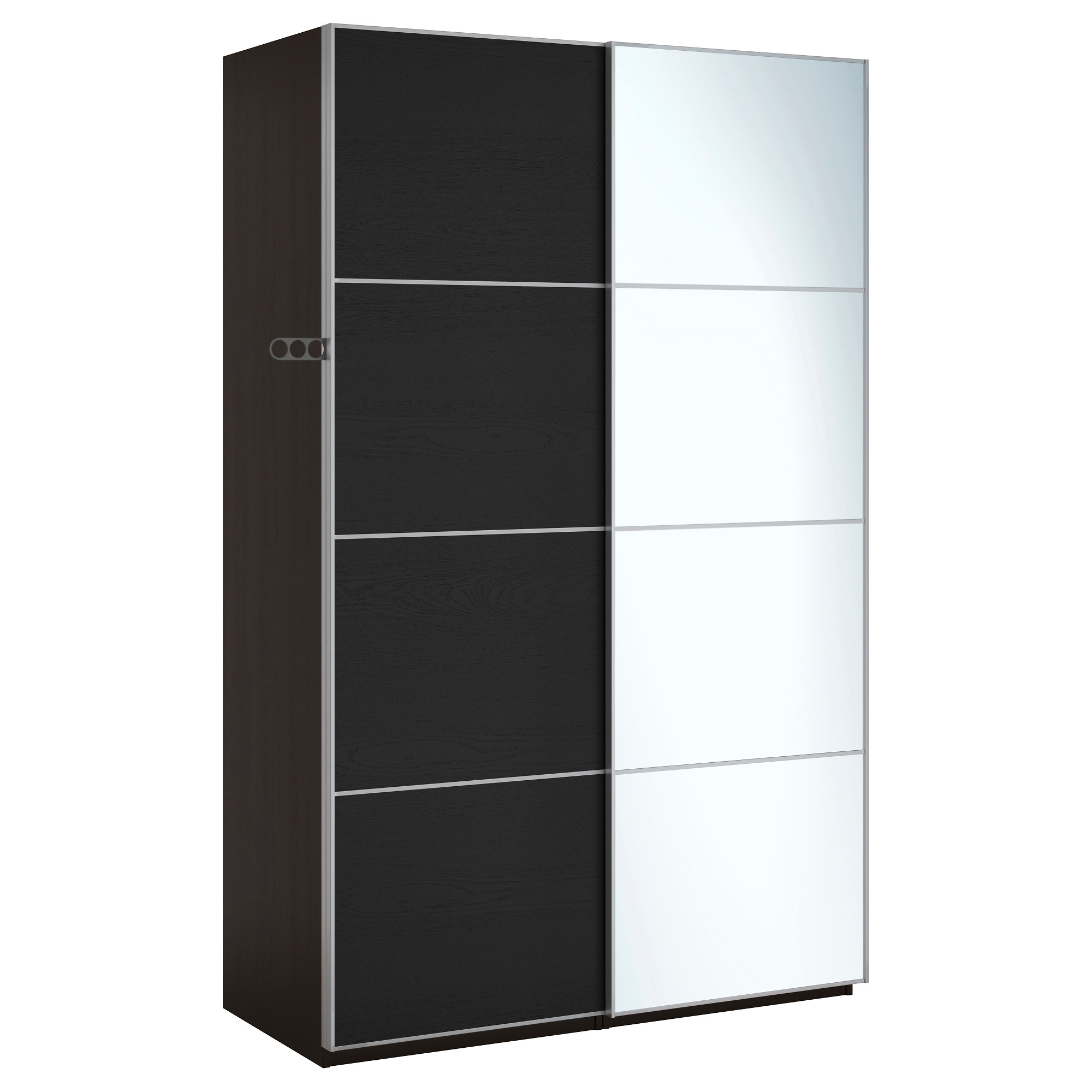 Chest Of Drawers Wardrobes Combination Regarding 2018 Pax Wardrobe – 150X66X201 Cm, Soft Closing Damper – Ikea (View 4 of 15)