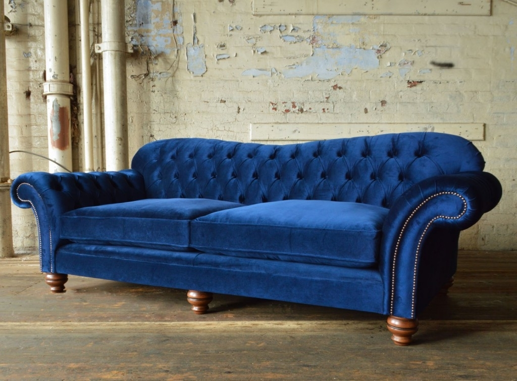 Chesterfield Sofas For Popular Hammersmith Velvet Chesterfield Sofa (View 5 of 10)