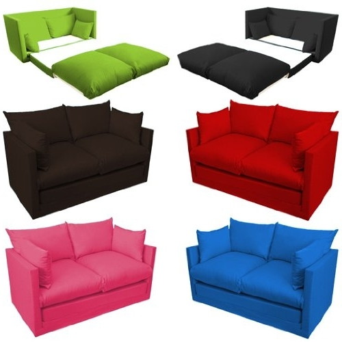 Childrens Sofas Inside Well Known Ready Steady Bed Comfortable Children's Kids Drill 2 Seater Sofa (View 4 of 10)