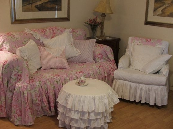 Chintz Covered Sofas Pertaining To Most Recent 109 Best Shabby Chic Sofa Slipcovers Images On Pinterest (View 3 of 10)
