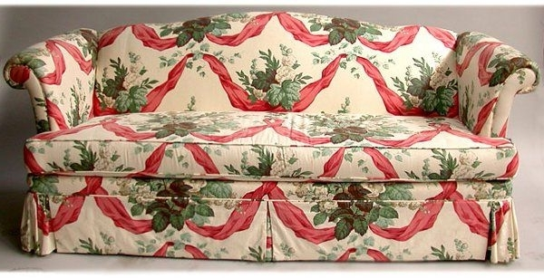 Chintz Fabric Sofas Within 2017 1336: Chintz Sofa N/r (View 8 of 10)