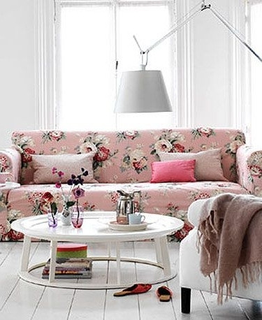 Chintz Floral Sofas Within Most Recently Released Lessons From A Shabby Chic Redux (View 3 of 10)