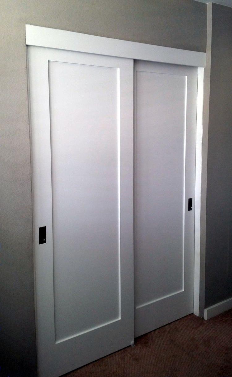 Closet Door Office (View 12 of 15)
