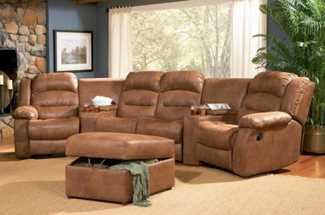 Coaster Sofas And Sectionals – 500639 – Jackson Home Theater In Well Known Theatre Sectional Sofas (View 1 of 10)
