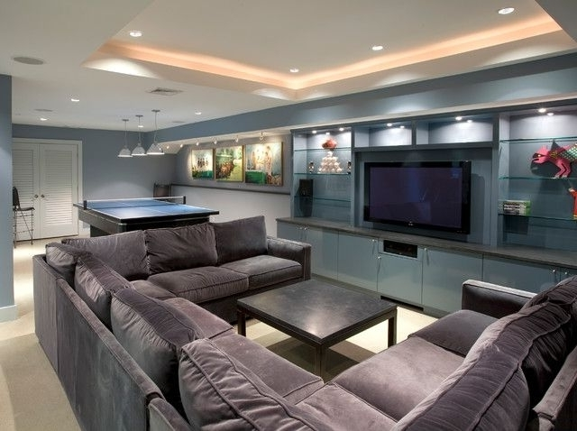 Collection In Sectional Sofa U Shaped With Large U Shaped Regarding Well Known Big U Shaped Sectionals (View 3 of 10)